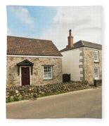 The Forge And Blacksmith's Cottage Mylor Bridge Fleece Blanket