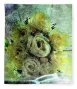 The Forgotten Flowers Fleece Blanket