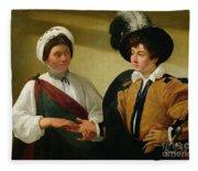 The Fortune Teller Fleece Blanket