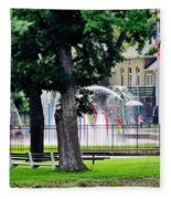 The Fountain For Youth Fleece Blanket