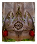 The Fountain Of Life Fleece Blanket
