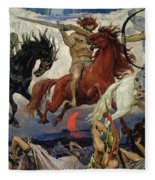 The Four Horsemen Of The Apocalypse Fleece Blanket