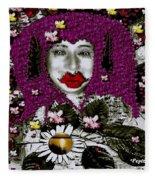 The Free Worlds Environmental Fairy Fleece Blanket