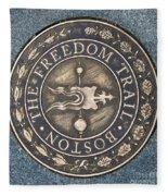 The Freedom Trail Fleece Blanket