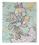 The French Invasion Fleece Blanket