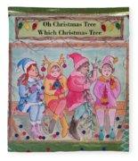 The Friends - Oh Christmas Tree Fleece Blanket