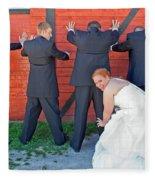 The Frisky Bride Fleece Blanket