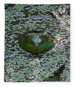 The Frog Fleece Blanket