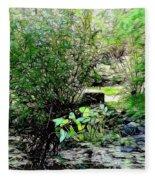 The Frog Pond Fleece Blanket