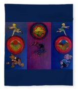 The Fruit Machine Stops II Fleece Blanket