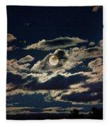 The Full Buck Moon Fleece Blanket