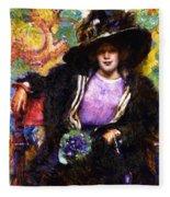 The Furs 1911 Fleece Blanket