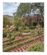 The Garden House Fleece Blanket