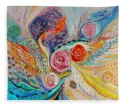 The Garden Of Dreams Fleece Blanket