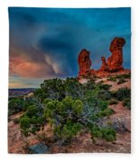 The Garden Of Eden Fleece Blanket