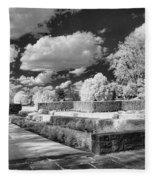 The Gardens In Ir Fleece Blanket