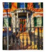 The Gardner-pingree House 1804 Fleece Blanket