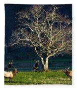 The Gathering Fleece Blanket