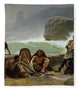 The Gaulish Coastguards Fleece Blanket