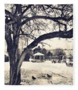 The Gazebo Fleece Blanket
