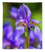 The Gentleness Of Spring 4 - Paint Fleece Blanket