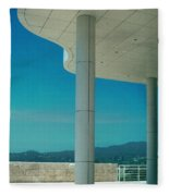 The Getty Panel 2 Of Triptyck Fleece Blanket