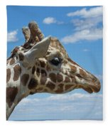 The Giraffe Fleece Blanket