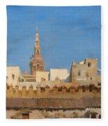 The Giralda. Seville Fleece Blanket