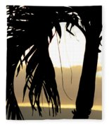The Glow Of Maui Fleece Blanket