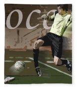 The Goalkeeper Fleece Blanket