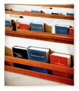 The Good Books Fleece Blanket
