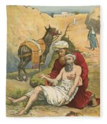 The Good Samaritan Fleece Blanket