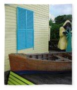 The Gordons Fisherman House Fleece Blanket