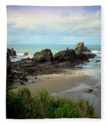 The Gorgeous Northwest Pacific Coastline Fleece Blanket