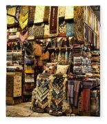 The Grand Bazaar In Istanbul Turkey Fleece Blanket