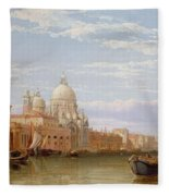 The Grand Canal - Venice Fleece Blanket