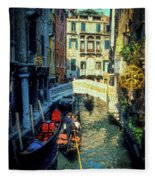 The Grand Canal Fleece Blanket
