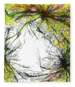 The Grand Symphony Of The Universe #635 Fleece Blanket
