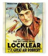 The Great Air Robbery 1919 Fleece Blanket