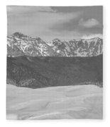 The Great Colorado Sand Dunes  Fleece Blanket
