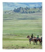 The Great Montana Expanse Fleece Blanket
