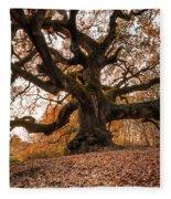 The Great Oak Fleece Blanket