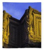 The Great Palace Of Fine Arts Fleece Blanket
