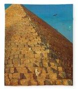 The Great Pyramid. Giza Fleece Blanket