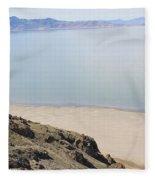 The Great Salt Lake 2 Fleece Blanket