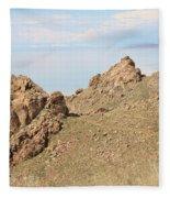 The Great Salt Lake 8 Fleece Blanket