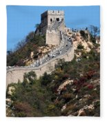 The Great Wall Mountaintop Fleece Blanket
