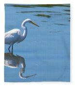 The Great White Fisherman Fleece Blanket