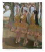 The Greek Dance Fleece Blanket