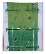 The Green Door Fleece Blanket